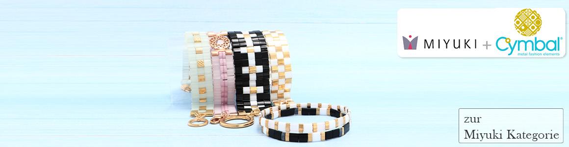Armbänder mit Tila-Perlen
