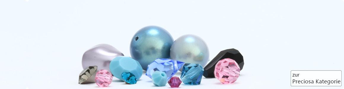 Schmuck mit Steinen und Perlen von Preciosa