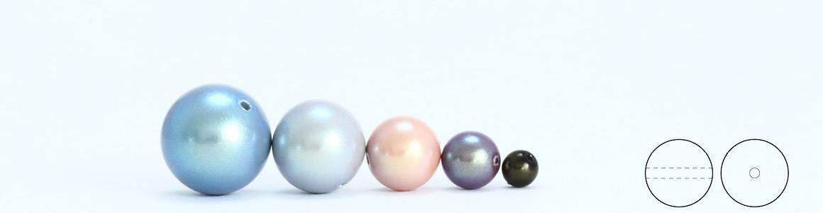 Preciosa 8 mm Nacre Pearl Round